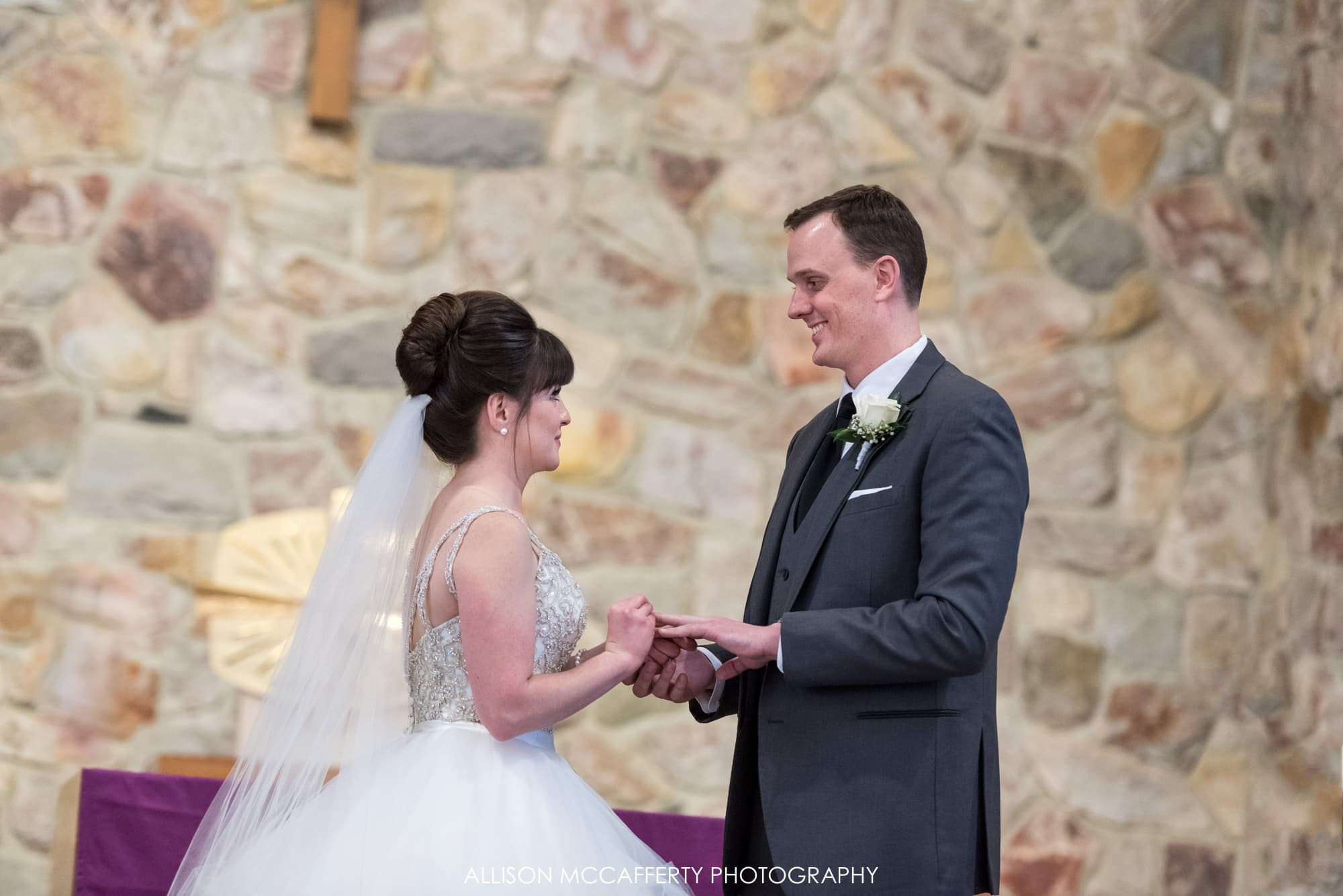 St Joan of Arc Wedding Photo