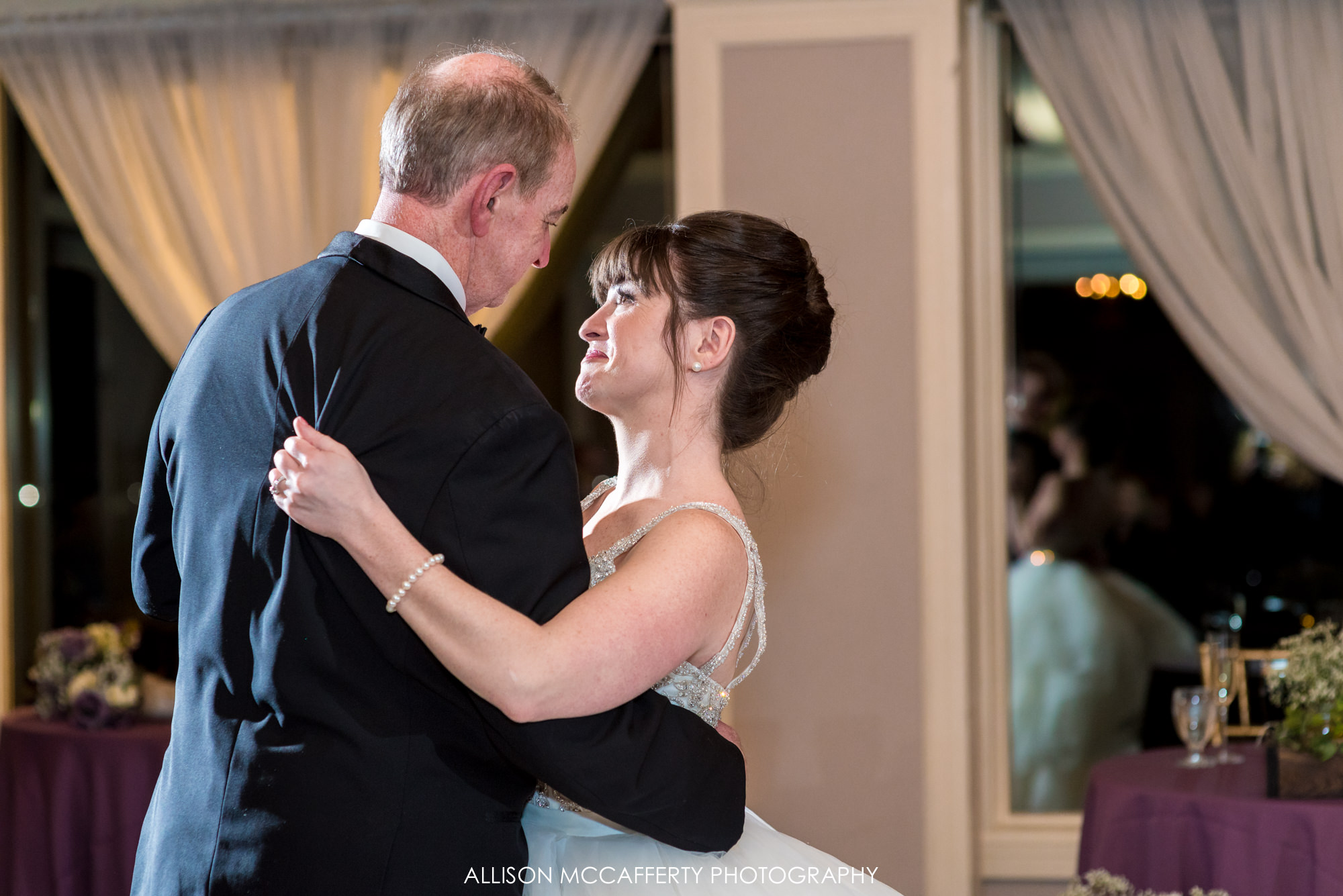 Father Daughter dance at Blue Heron Pines Golf Blue Heron Pines Wedding Ballroom