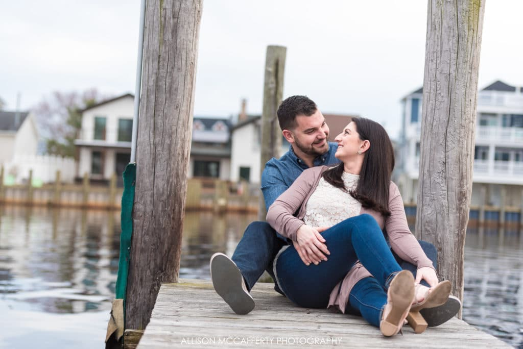 Forked River engagement photographer