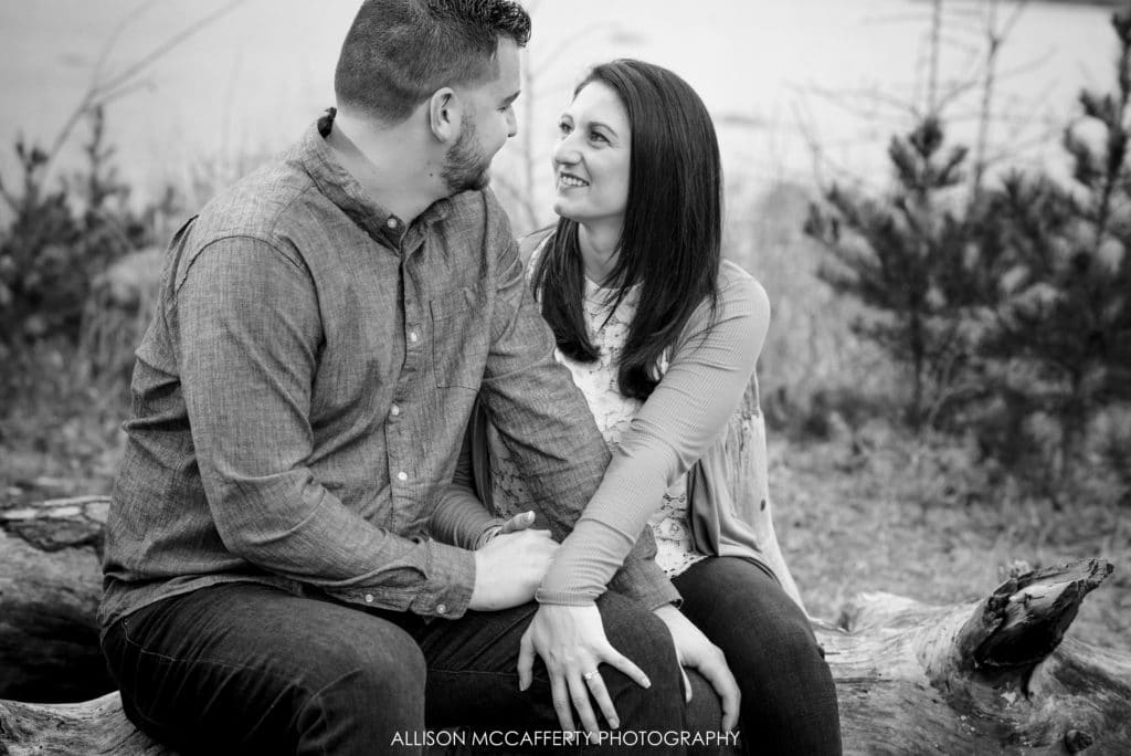 Double Trouble State Park Engagement Photographer
