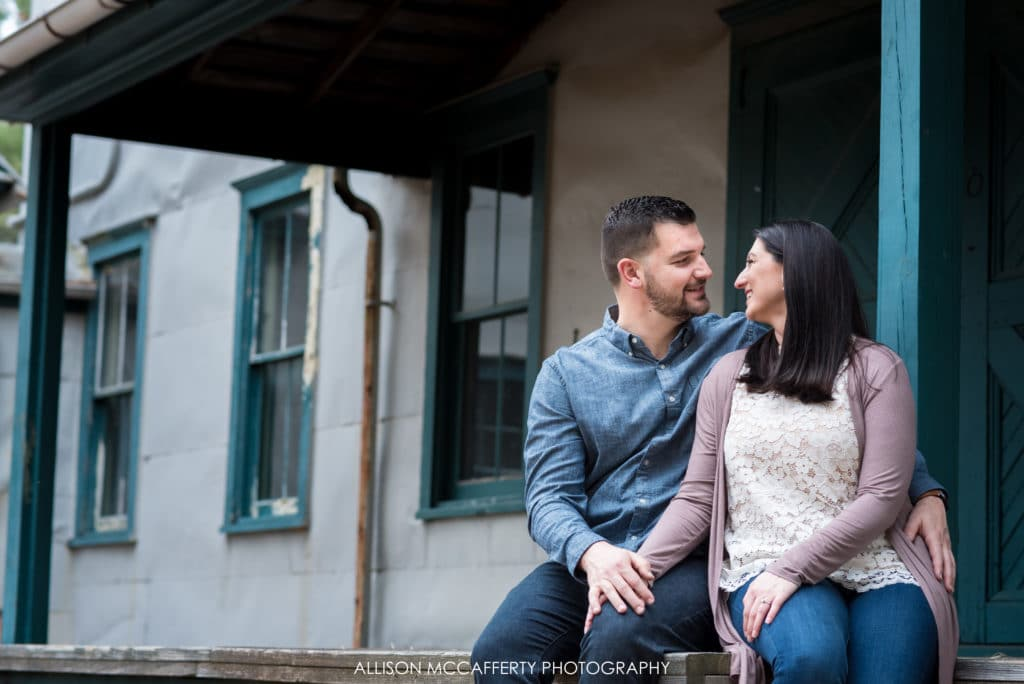 Bayville NJ engagement session