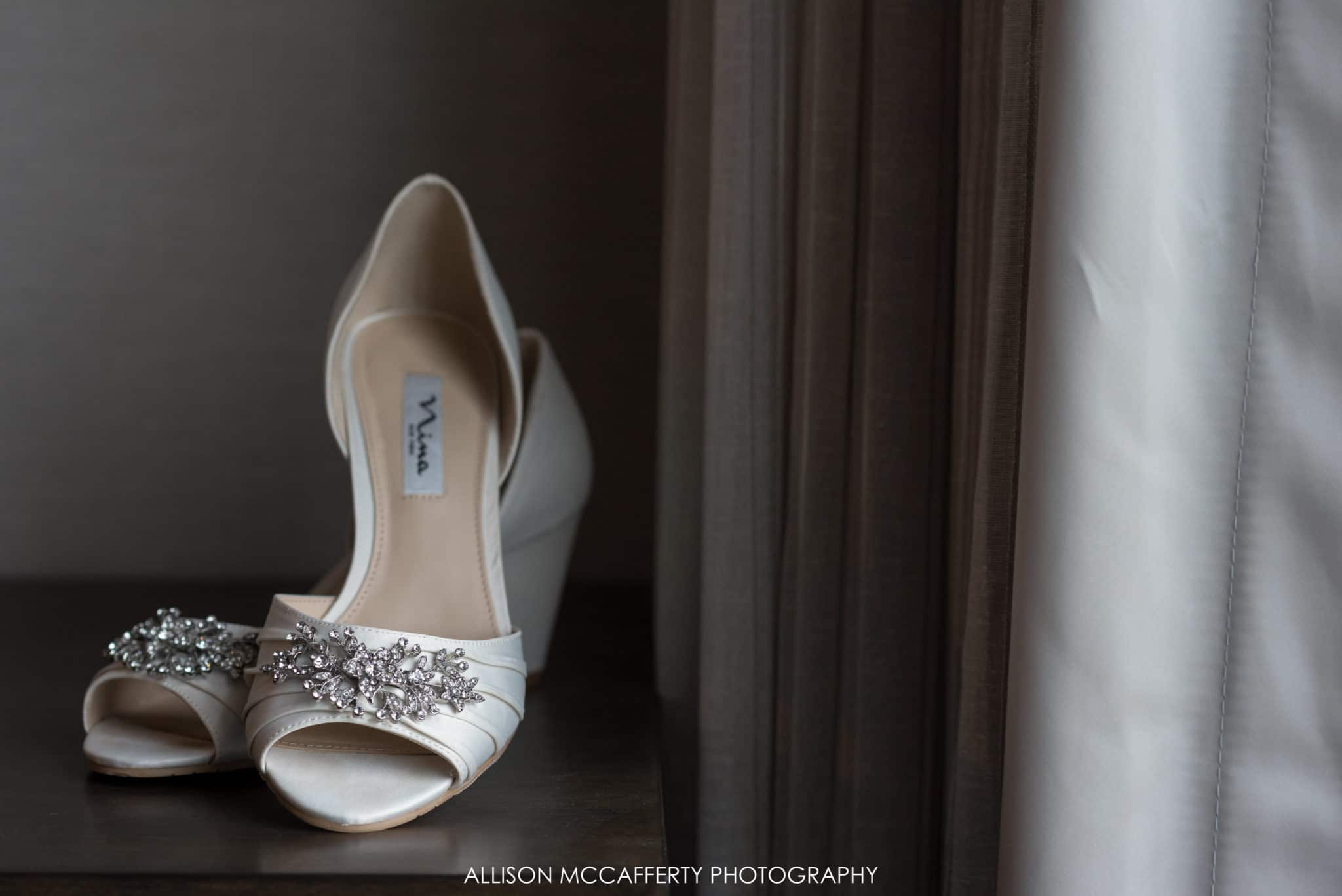open toed wedding shoes
