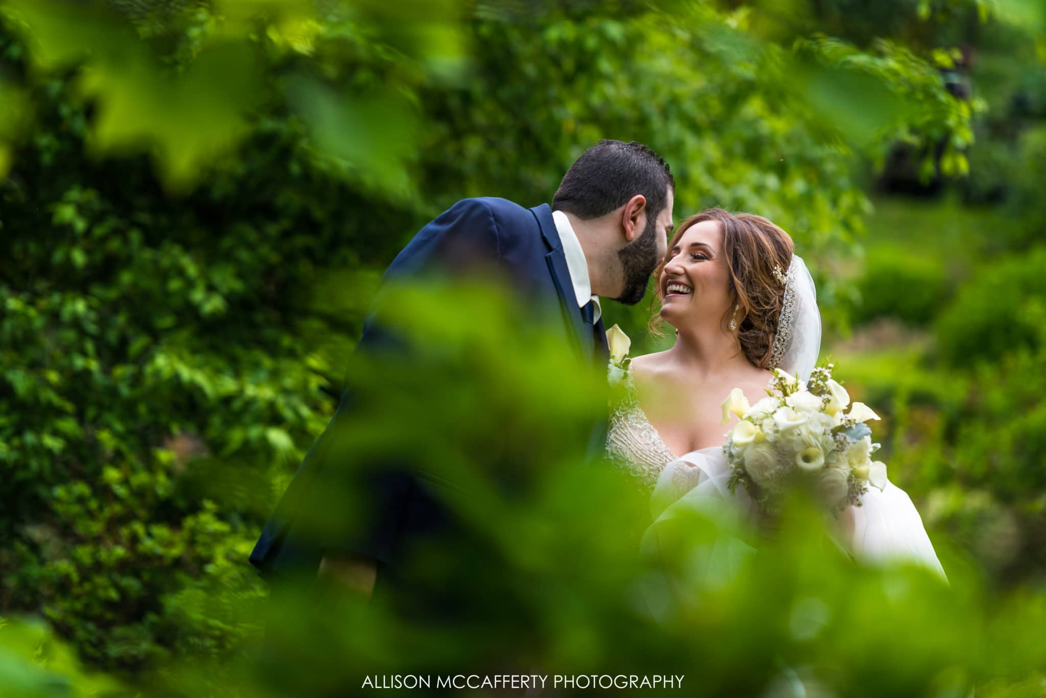 Spring wedding at Reeves-Reed Arboretum