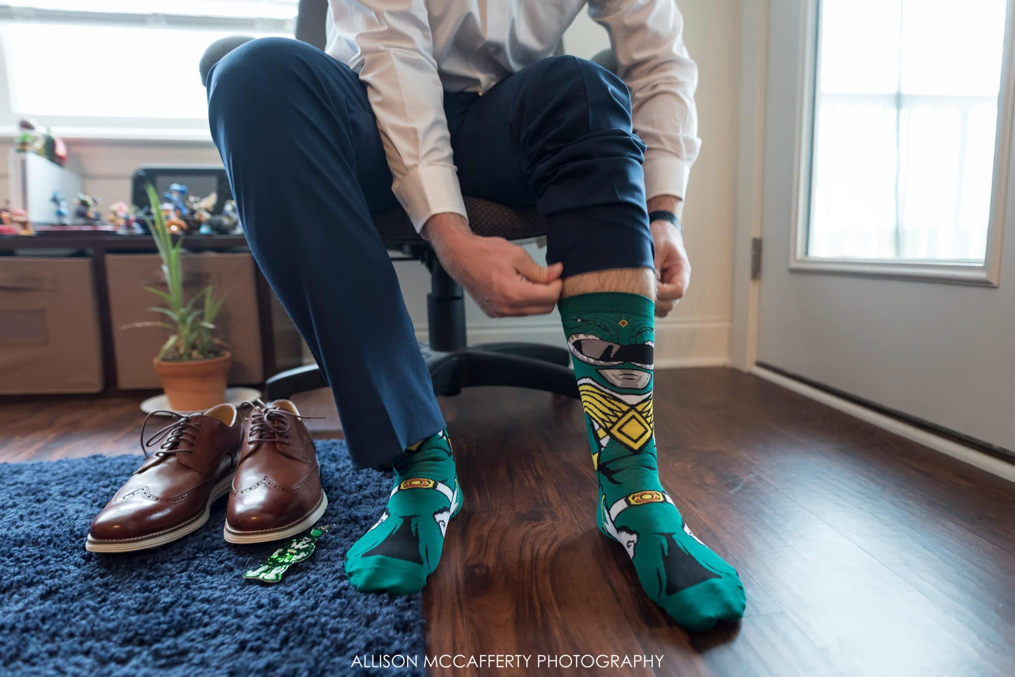 Marvel comics wedding socks
