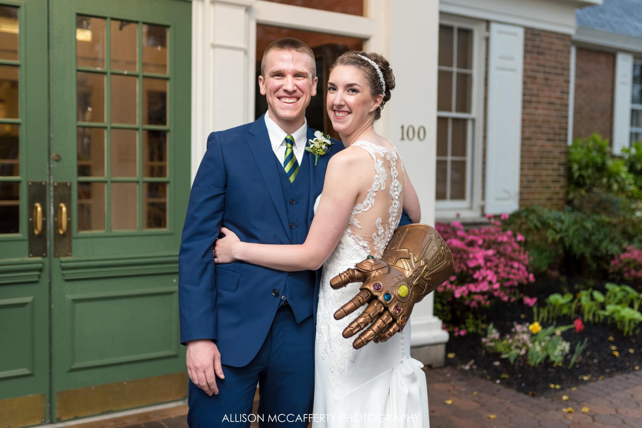 Avengers Themed Wedding Photos