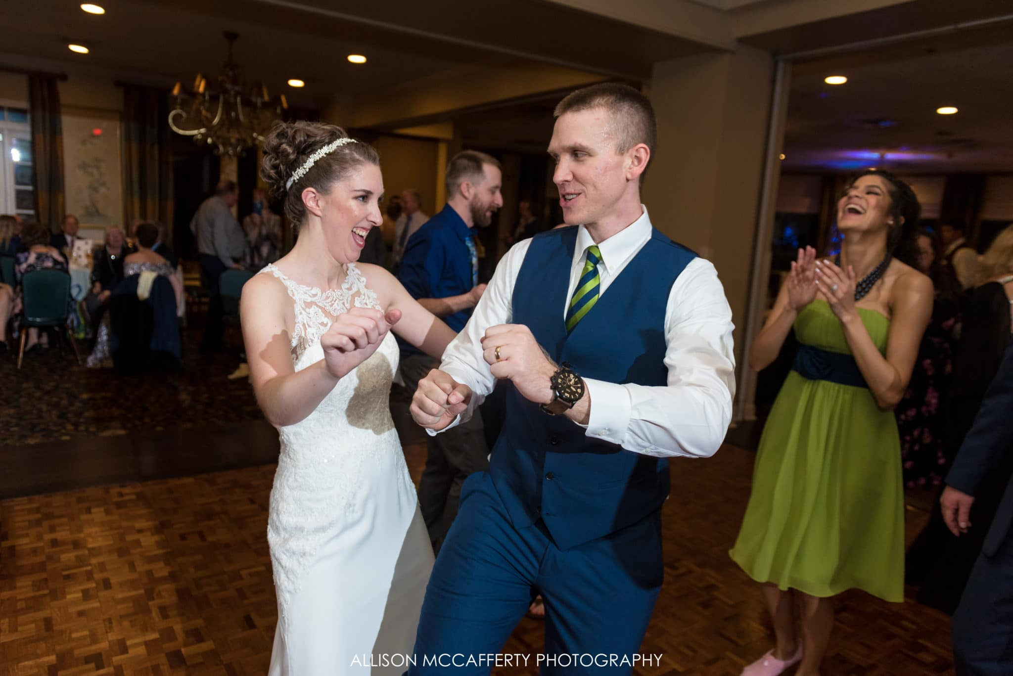 New Jersey wedding reception photos