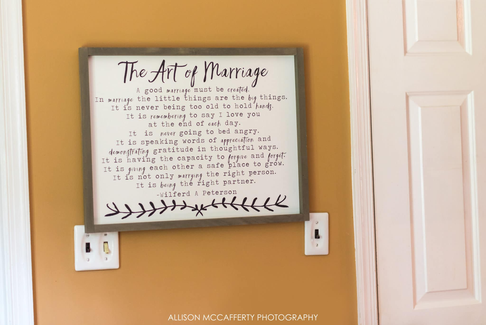 The Art of marriage artwork