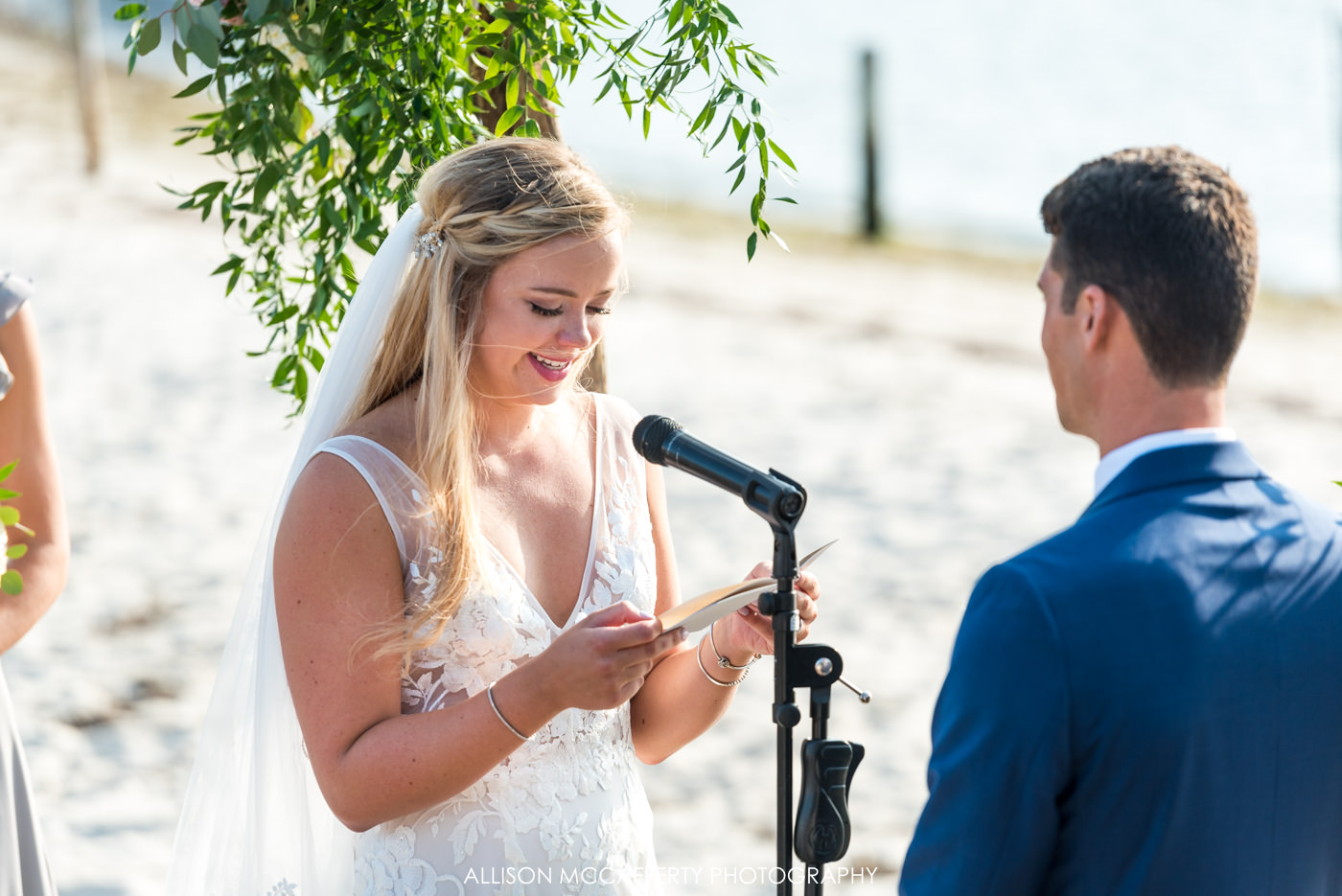Brant Beach Yacht Club Wedding Ceremony
