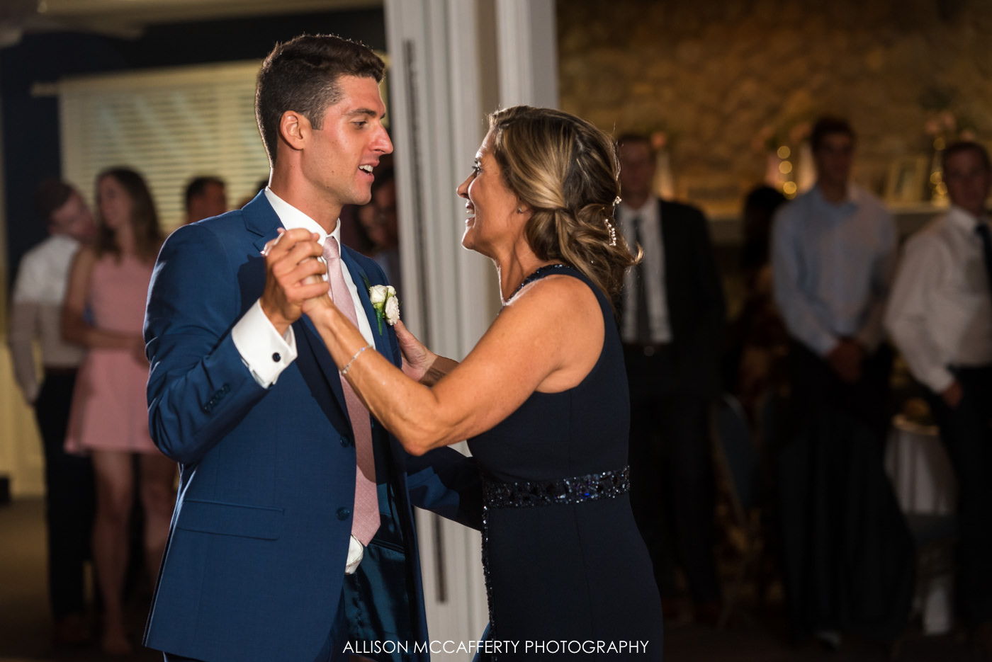 Mother son dance in South Jersey