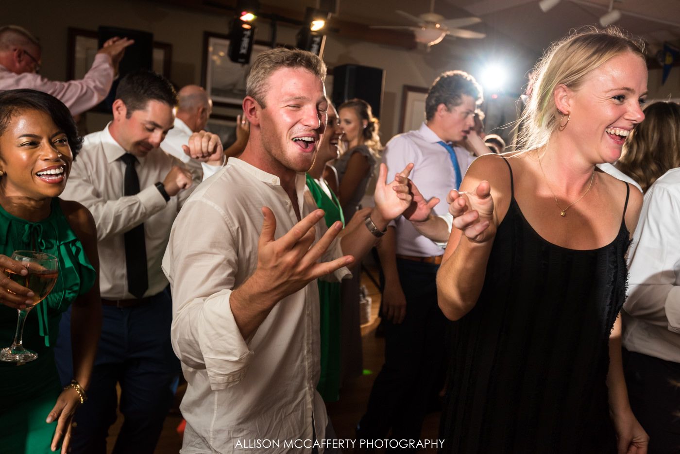 Reception photos at Brant Beach Yacht Club