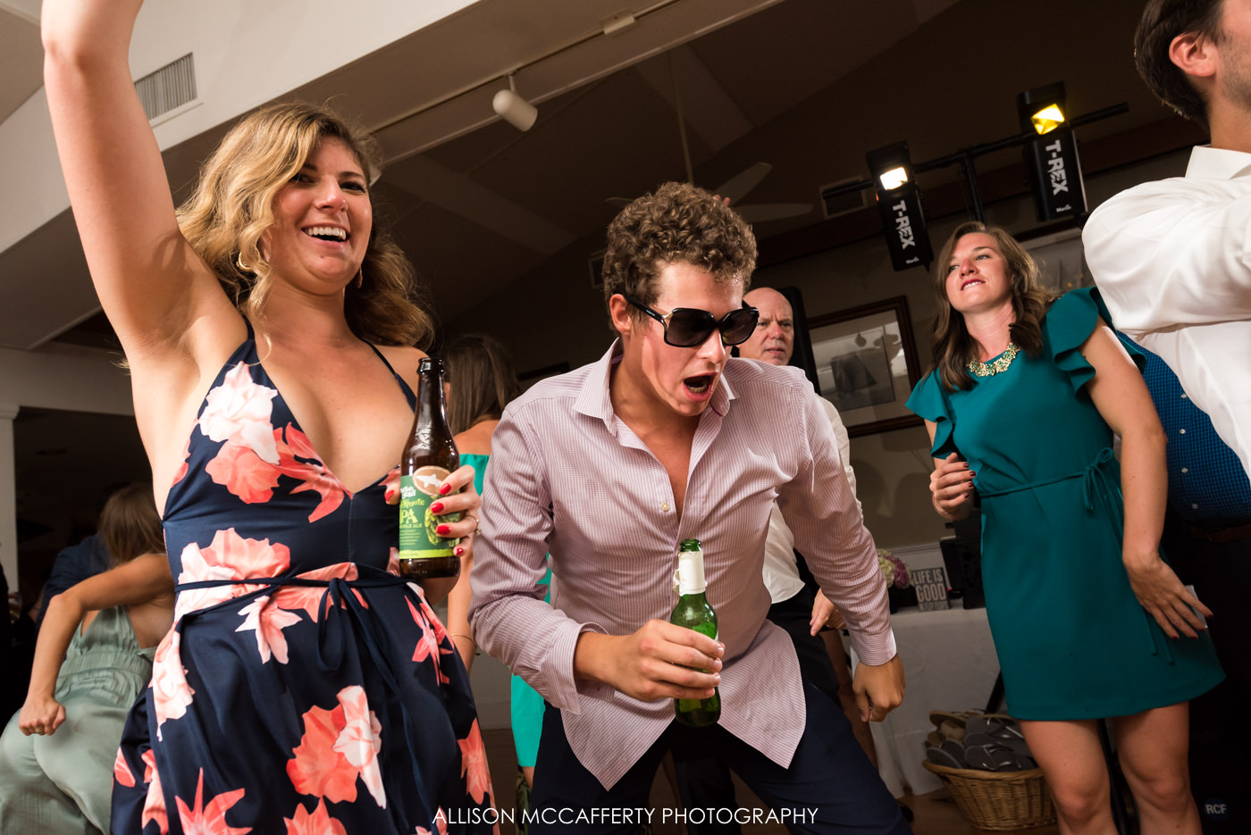 Fun dancing photos at Brant Beach Yacht Club