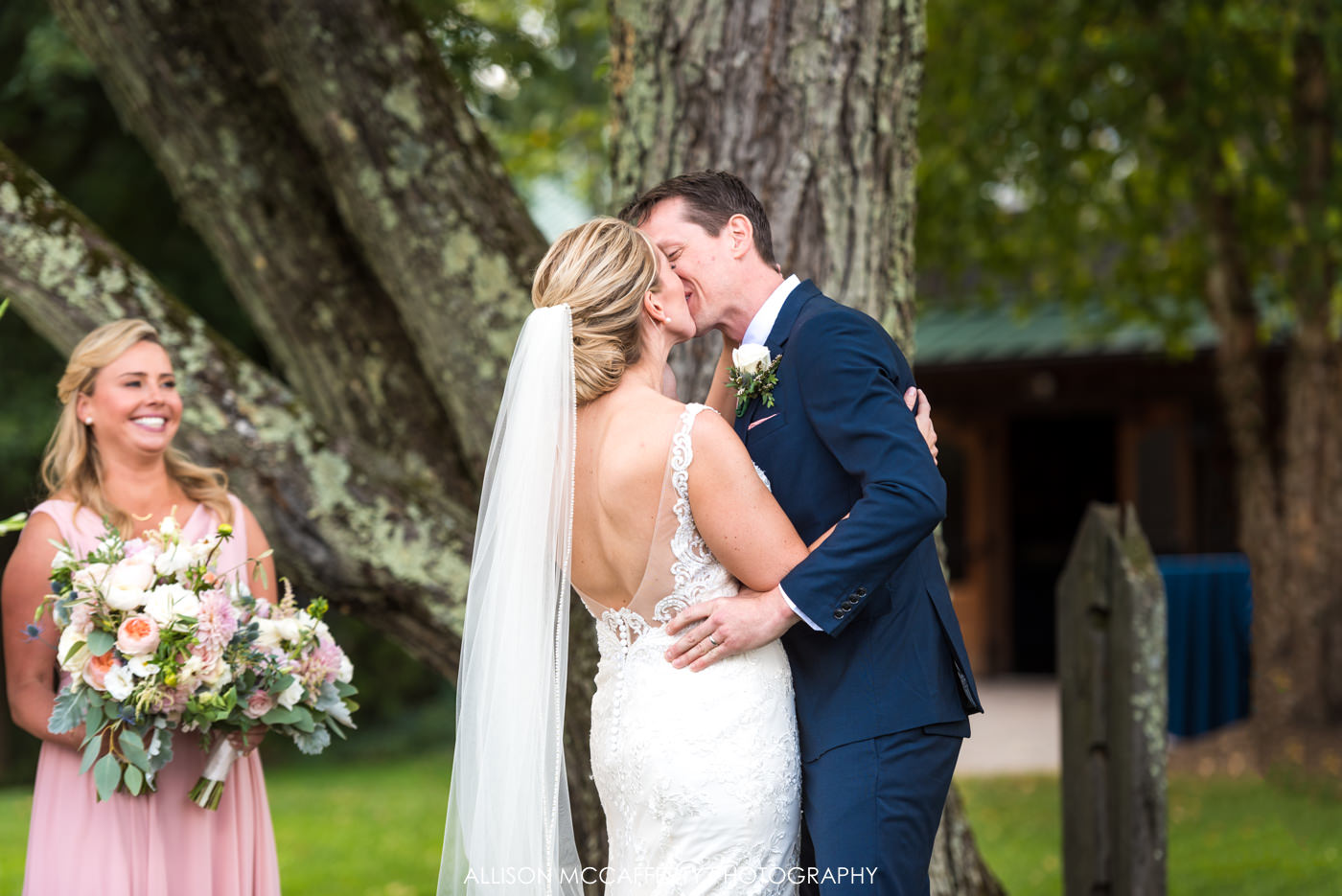 Rose Bank Winery wedding photographer