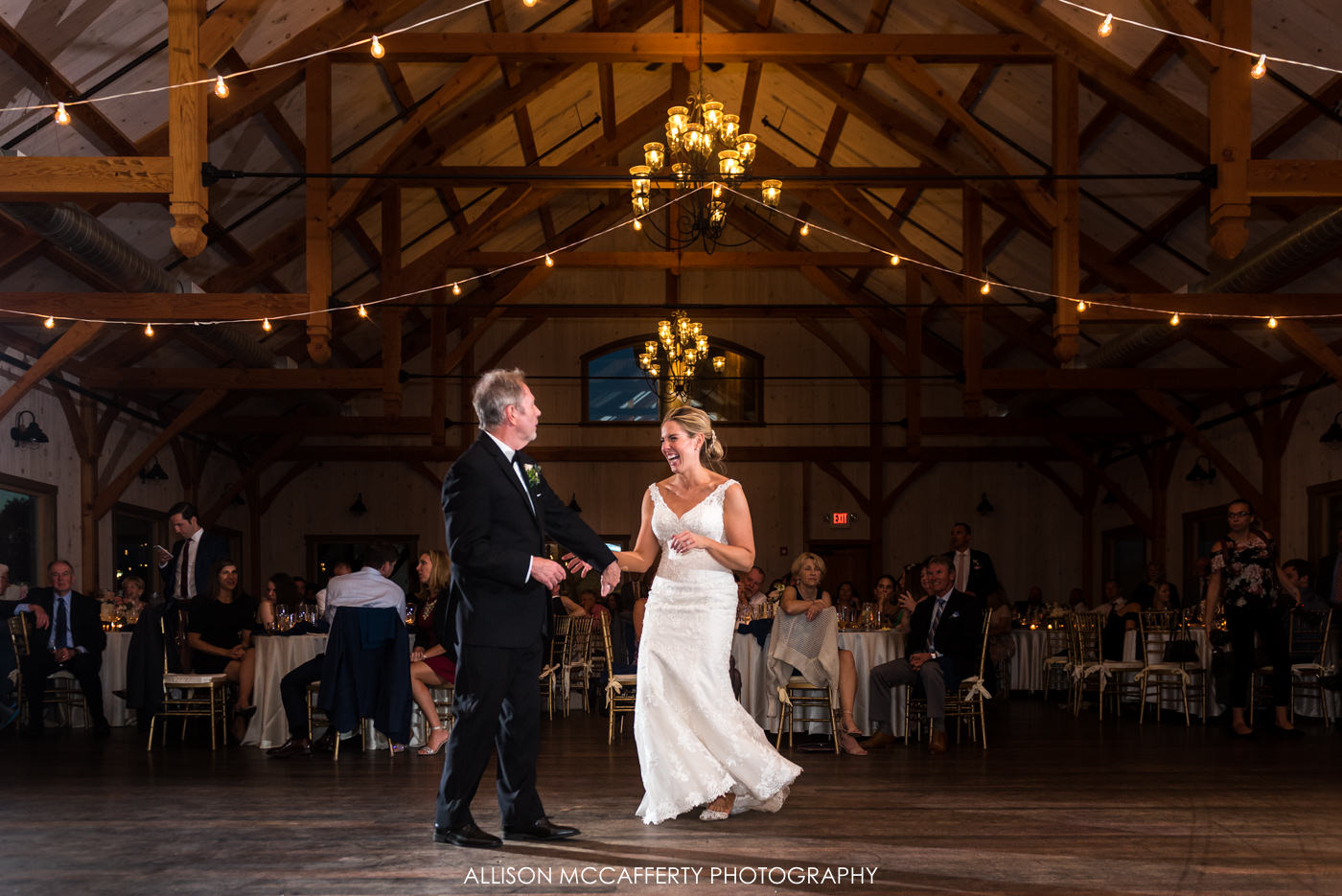 Reception photos at Rose Bank Winery