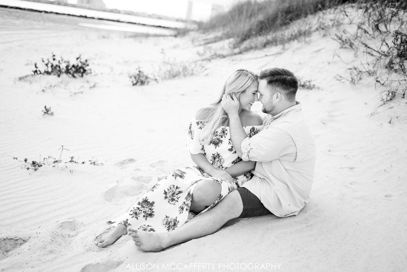 Brigantine Engagement Photo