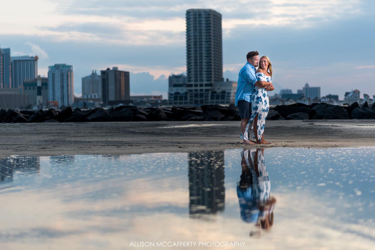 Brigantine Beach Engagement Photographer