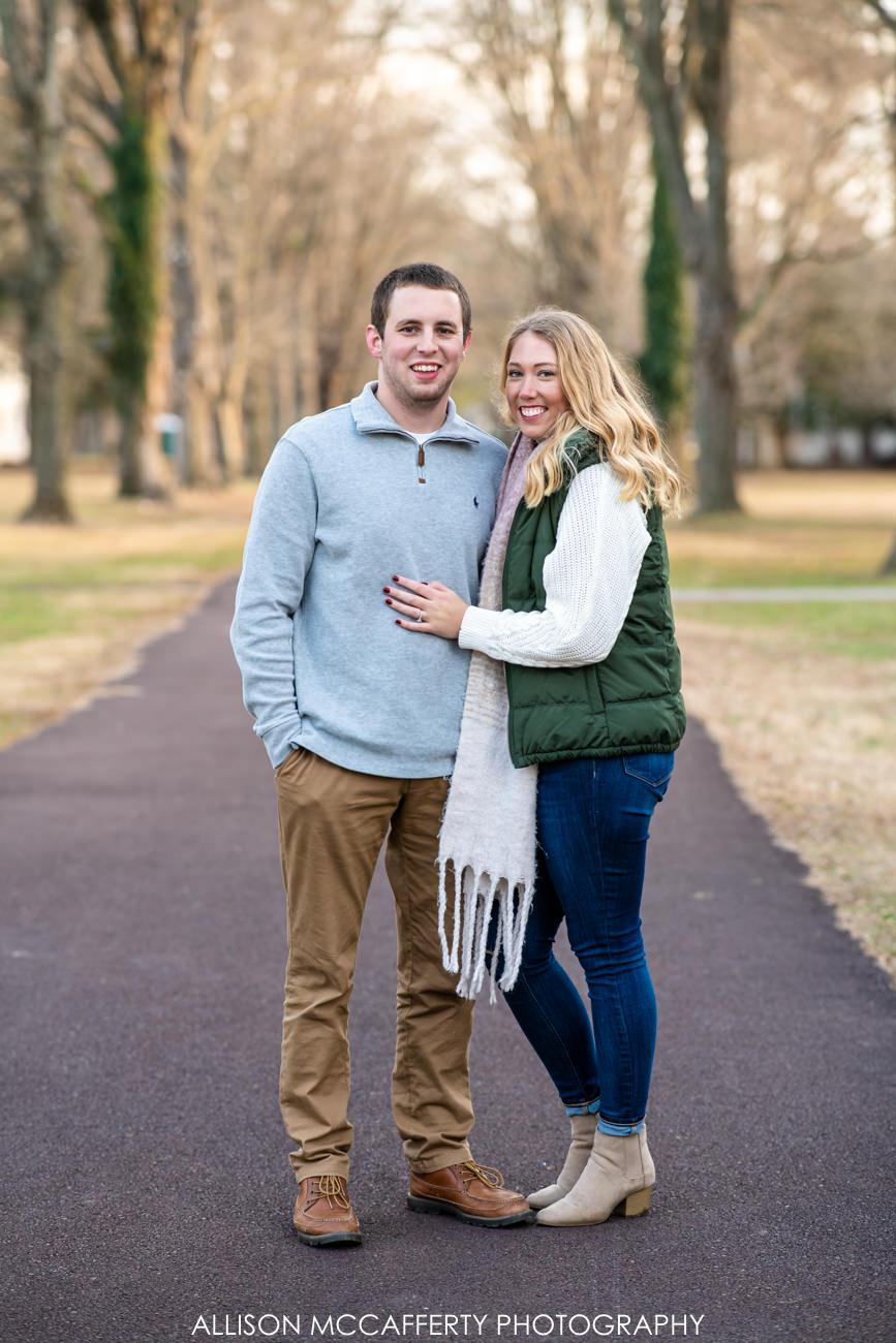 Washington Crossing Engagement Photos
