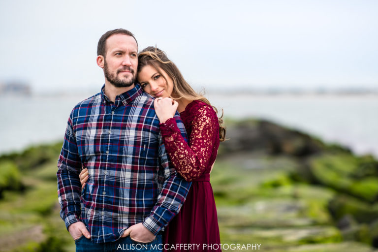 Mary & Jason | Margate NJ Engagement Photos