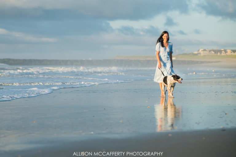 Jackie & Lucy | Family Session in Ocean City, NJ