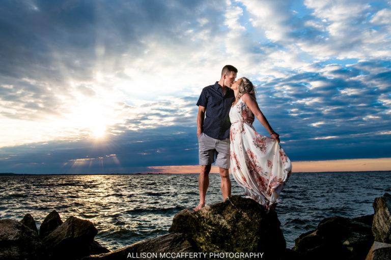 Kierstin & Frank | Sandy Hook Engagement