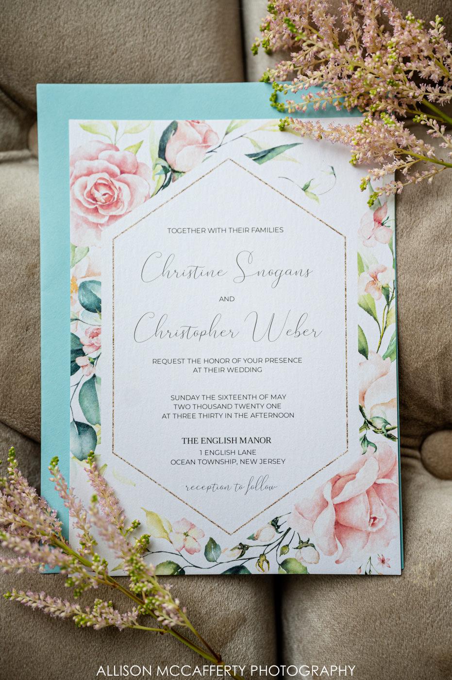 The English Manor Wedding