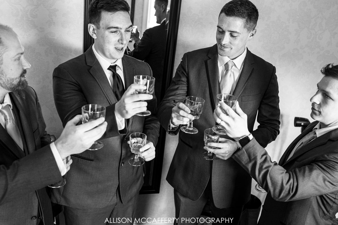 The English Manor Ocean Twp Wedding Photo