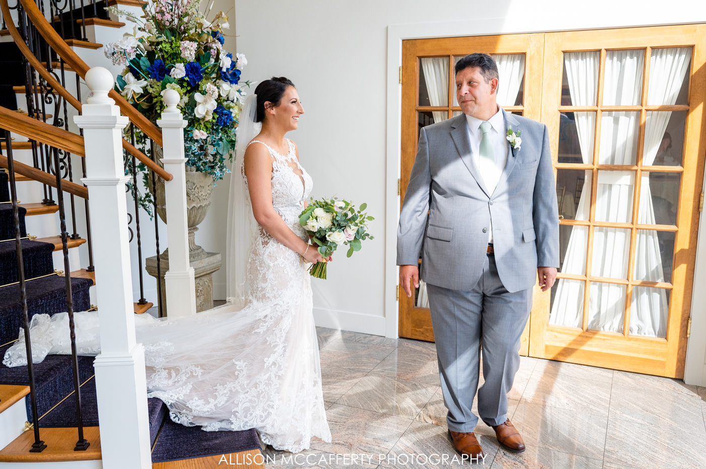 First Look with Dad Photos
