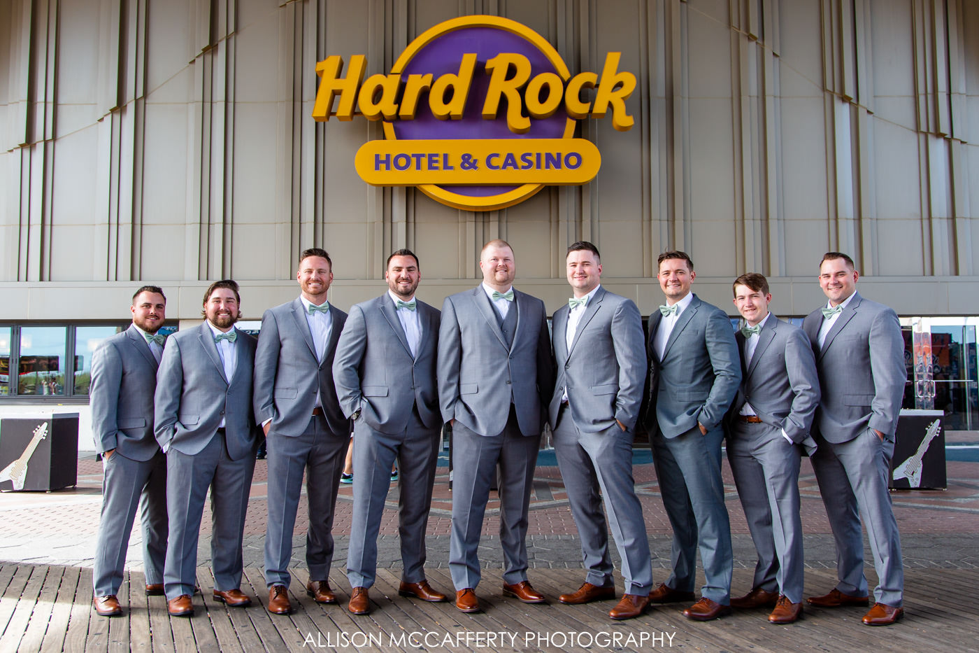 Hard Rock Casino Wedding Photo