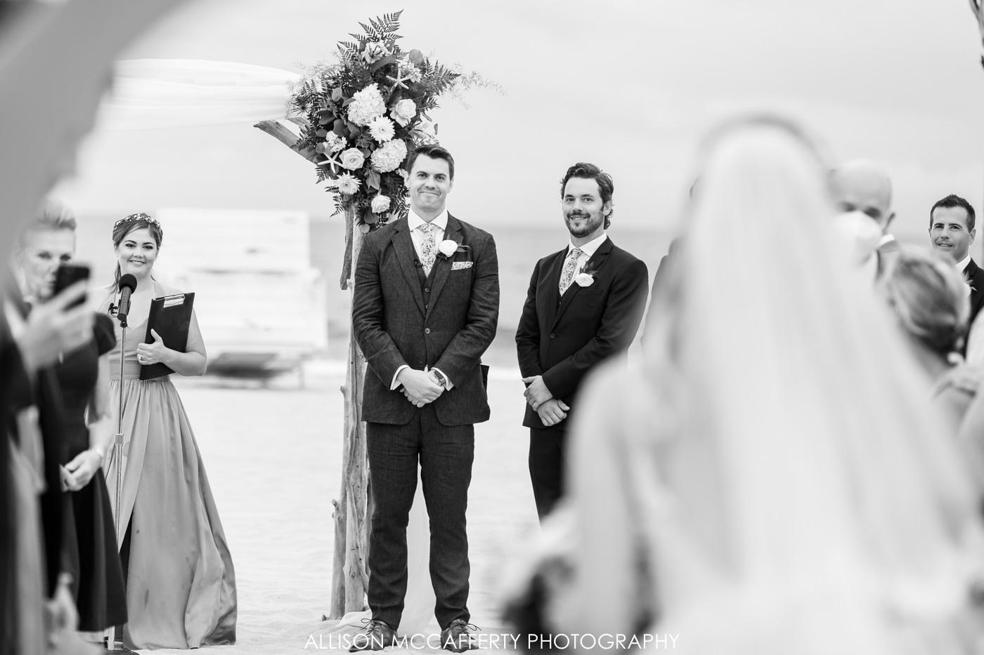 NJ Beach Wedding Photo