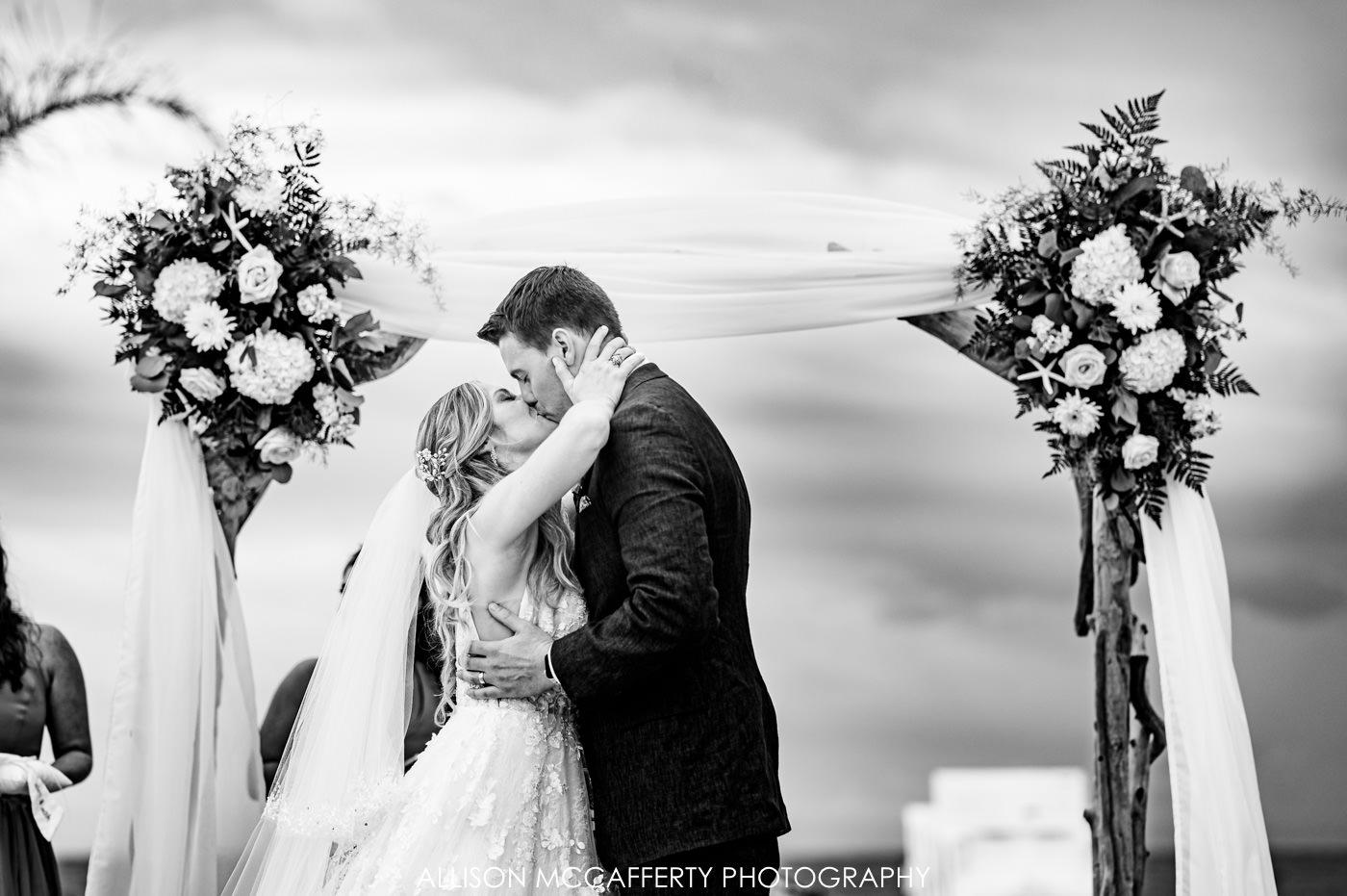 New Jersey Beach Wedding Picture