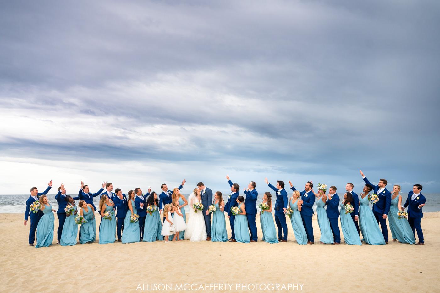 New Jersey Beach Wedding Photographer