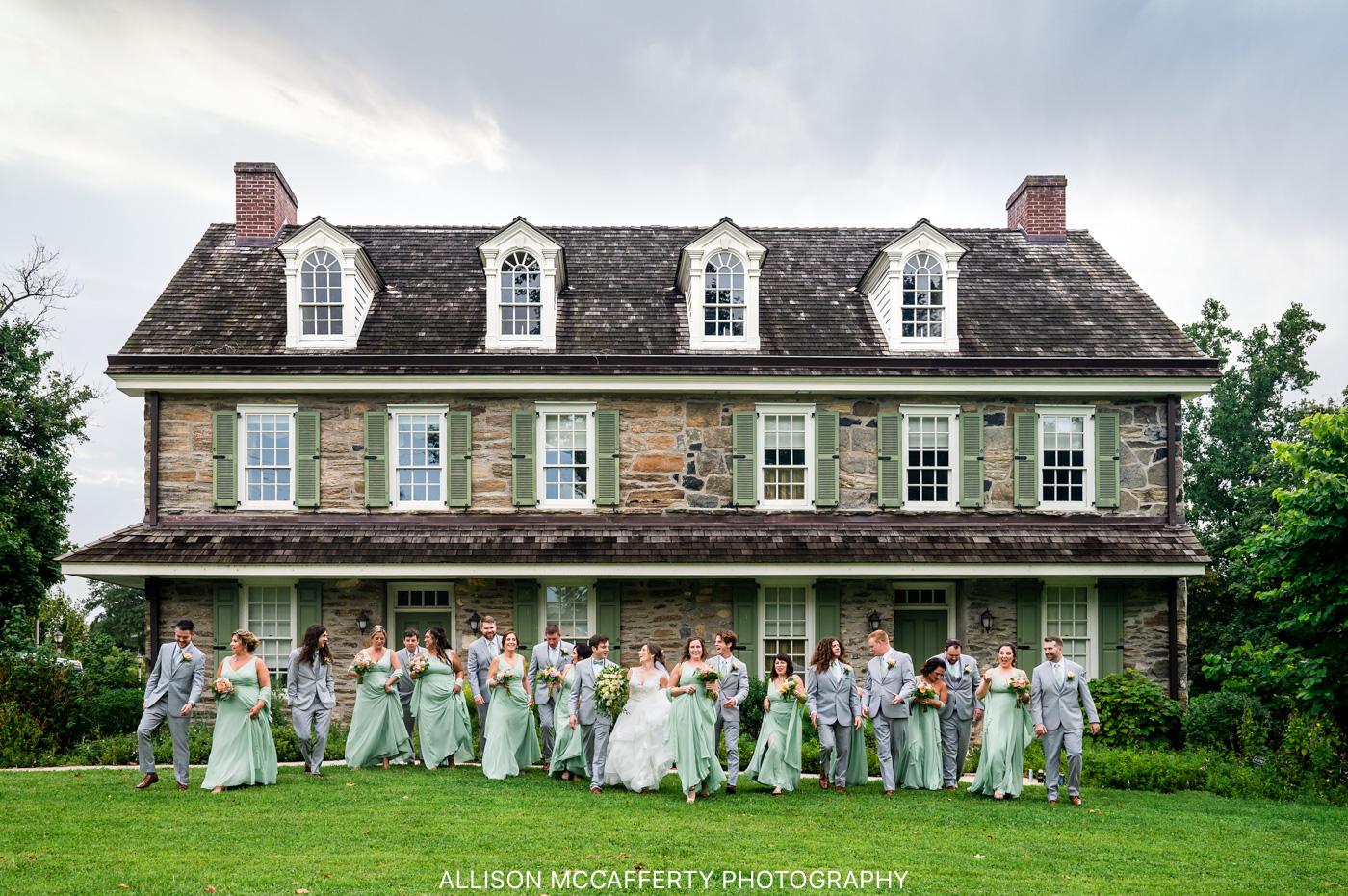 Concordville Inn PA Wedding Photo