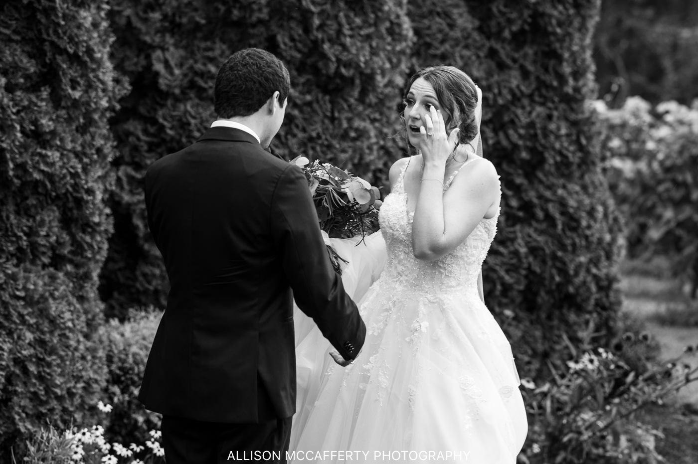 Valenzano's Winery Wedding Photo