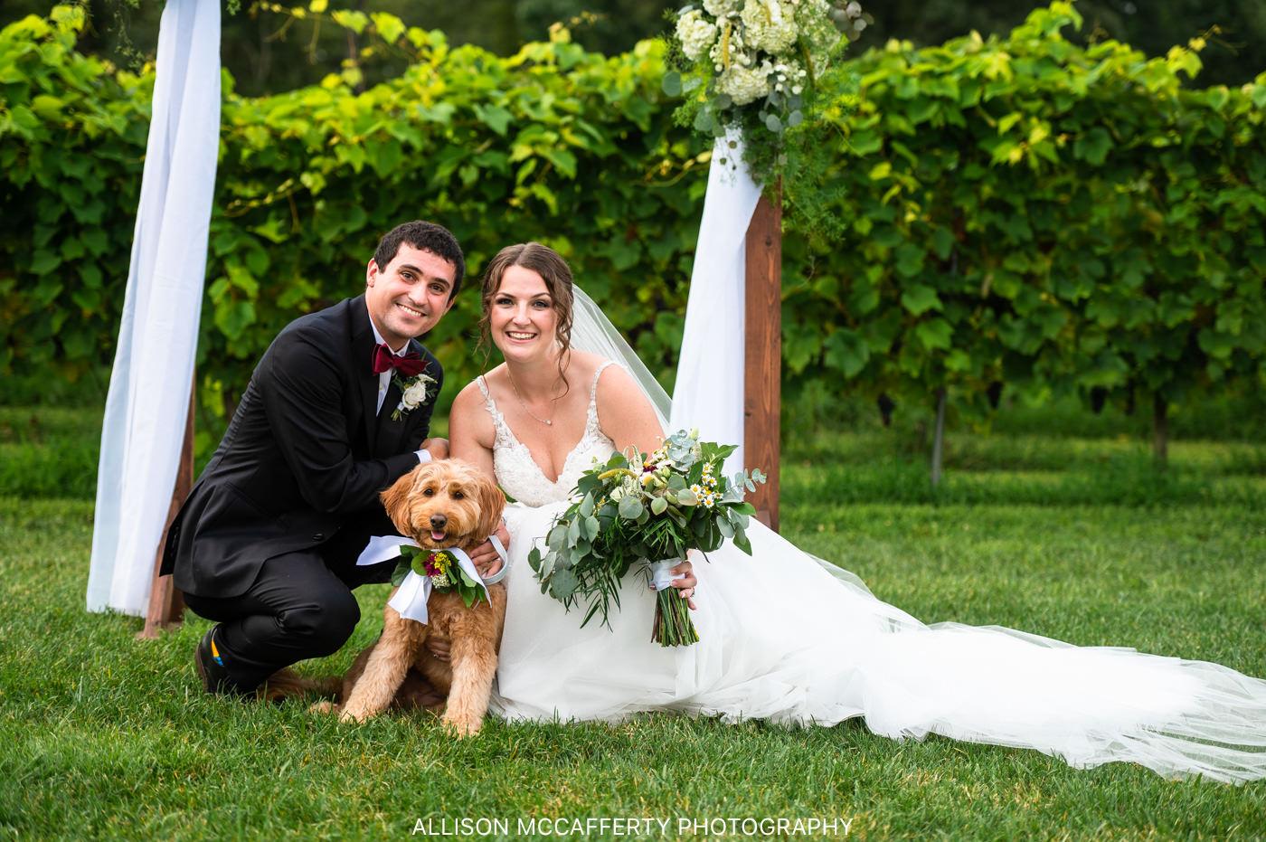 Wedding at Valenzano's Winery Shamong NJ