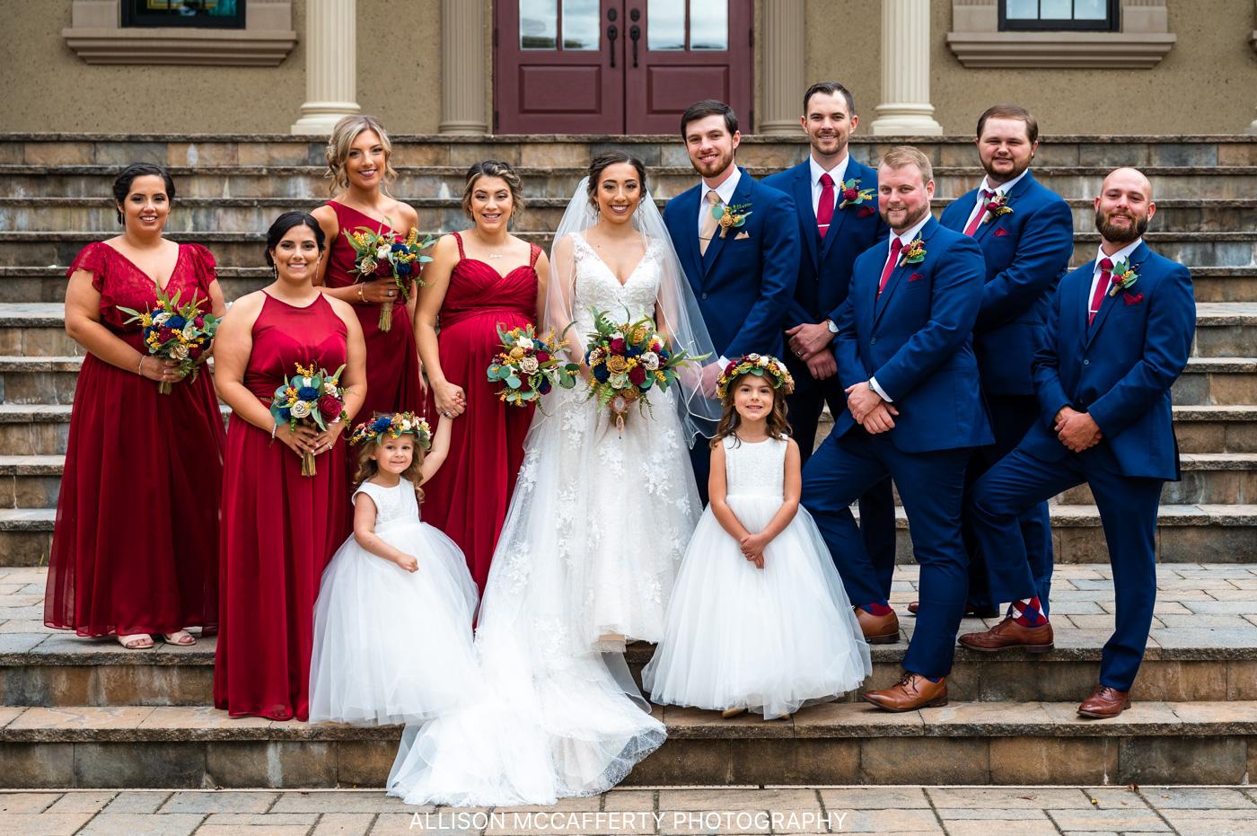 Brigalias Fall Wedding Picture