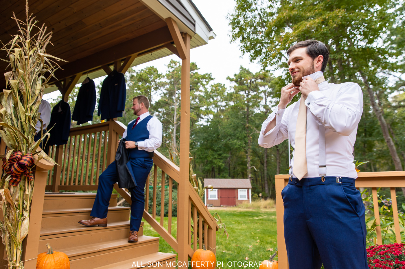 South Jersey Outdoor Wedding Photo