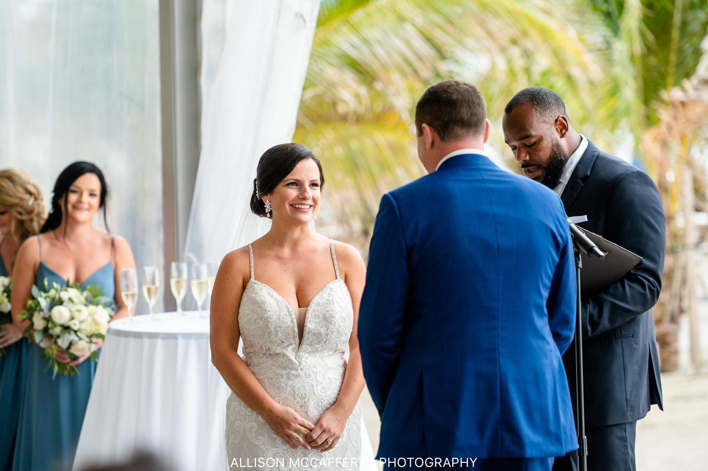 Diamond Beach ICONA Wedding Ceremony
