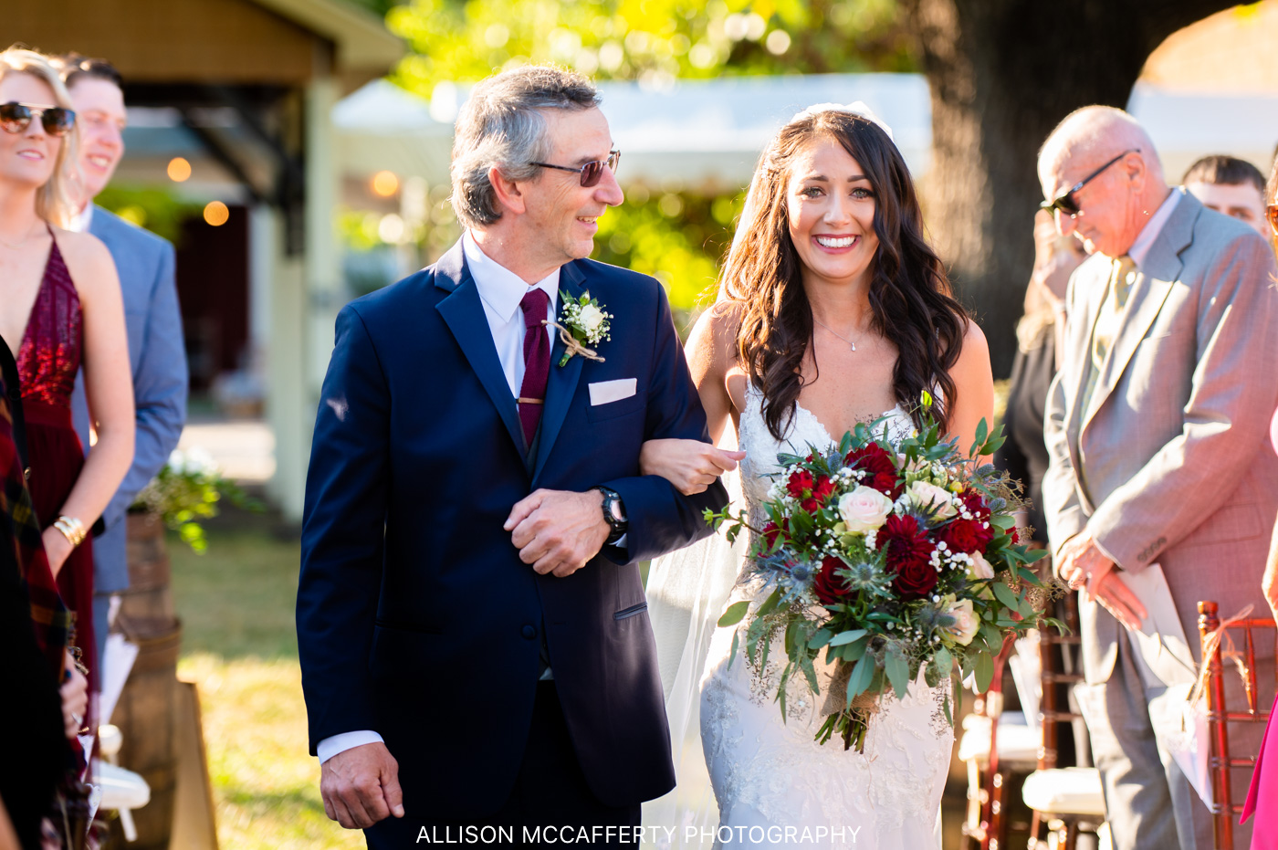 Valenzano Winery Pavilion Wedding